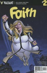 Valiant Entertainment's Faith Issue # 2c