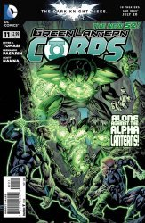 DC Comics's Green Lantern Corps Issue # 11