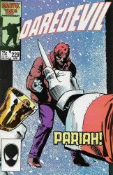 Marvel Comics's Daredevil Issue # 229