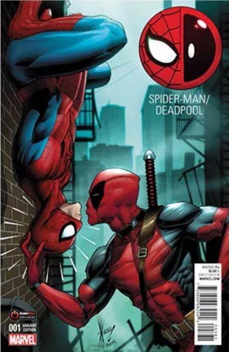 deadpool and spiderman comic - photo #8