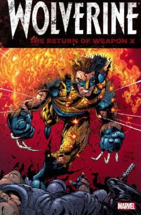 wolverine  return of weapon x tpb 1  marvel