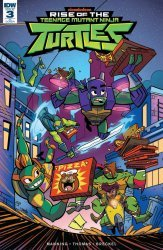 IDW Publishing's Rise of the Teenage Mutant Ninja Turtles Issue # 3ri