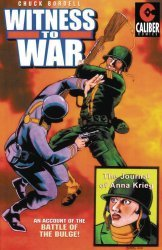 Caliber Entertainment's Witness To War Soft Cover # 1