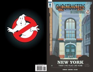 IDW Publishing's Ghostbusters: International Issue # 8