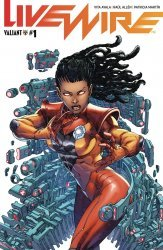 Valiant Entertainment's Livewire Issue # 1b