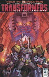 IDW Publishing's Transformers: Till All Are One Issue # 3sub