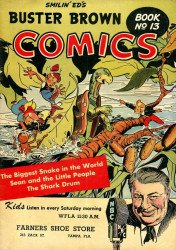 Buster Brown Shoes's Buster Brown Comics Issue # 13farner