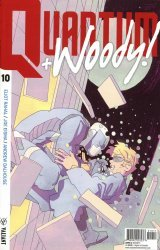 Valiant Entertainment's Quantum & Woody Issue # 10