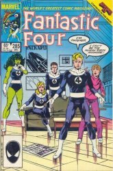 Marvel's Fantastic Four Issue # 285