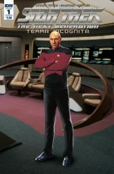 IDW Publishing's Star Trek: The Next Generation - Terra Incognita Issue # 1b