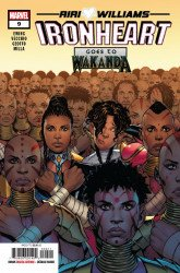 Marvel Comics's Ironheart Issue # 9