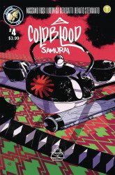 Action Lab Entertainment's Cold Blood Samurai Issue # 4