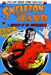 American Comics Group's Skeleton Hand Issue # 6