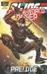 IDW Publishing's G.I. Joe: A Real American Hero - Cobra: World Order Prelude Issue # 1sccc-a