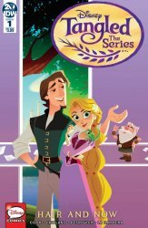 IDW Publishing's Tangled The Series Hair and Now Issue # 1