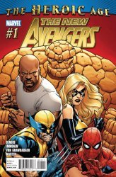 Marvel Comics's The New Avengers Issue # 1