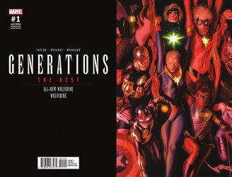 Marvel Comics's Generations: Wolverine & All-New Wolverine Issue # 1d
