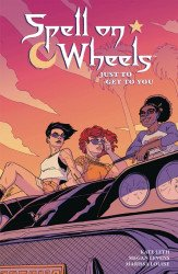 Dark Horse Comics's Spell On Wheels: Just To Get To You TPB # 1