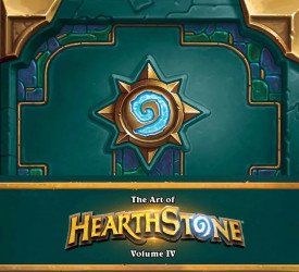 Blizzard Entertainment's The Art Of Hearthstone Hard Cover # 4