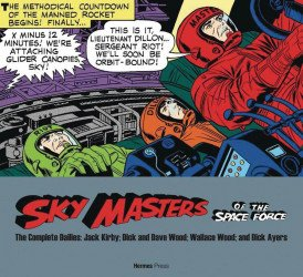Hermes Press's Sky Masters of the Space Force: Complete Dailies 1958-1961 Soft Cover # 1