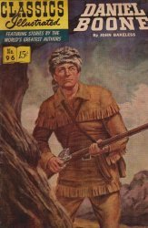 Gilberton Publications's Classics Illustrated #96: Daniel Boone Issue # 8