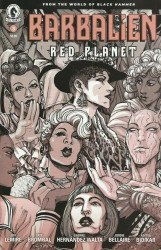 Dark Horse Comics's Barbalien: Red Planet Issue # 3b
