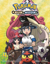 Viz Media's Pokemon: Sun & Moon Soft Cover # 4