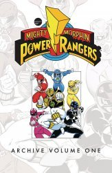 BOOM! Studios's Mighty Morphin Power Rangers: Archive TPB # 1