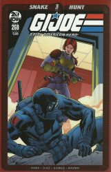 IDW Publishing's G.I. Joe: A Real American Hero Issue # 268
