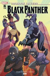 IDW Publishing's Marvel Action: Black Panther Issue # 6