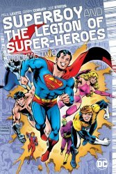 DC Comics's Superboy and the Legion of Super-Heroes Hard Cover # 2