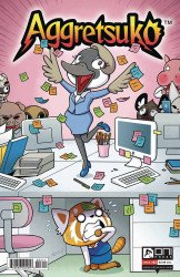 Oni Press's Aggretsuko Issue # 3