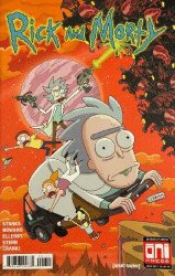 Oni Press's Rick and Morty: Rickmobile Special # 1