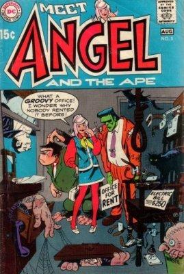 ANGEL AND THE APE #1 DC VERTIGO 2001  VERY FINE