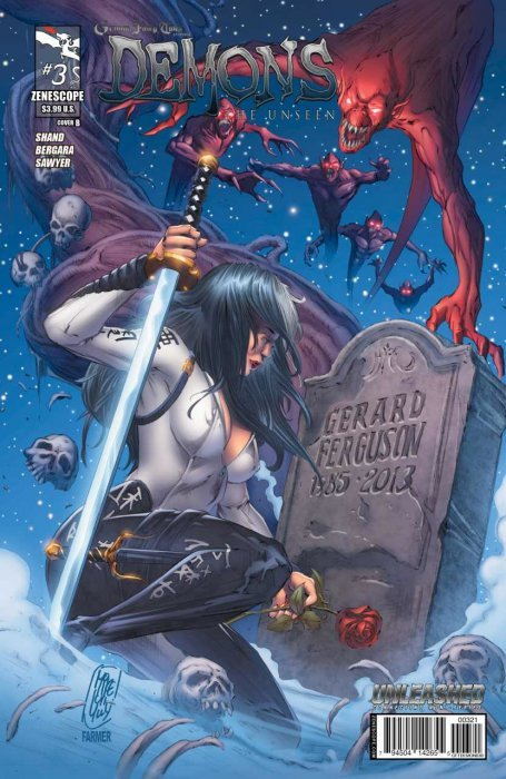 Grimm Fairy Tales Presents Demons The Unseen 3 Cover B or better NM
