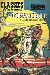 Gilberton Publications's Classics Illustrated #58: The Prairie Issue # 2b