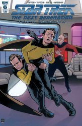 IDW Publishing's Star Trek: The Next Generation - Terra Incognita Issue # 6