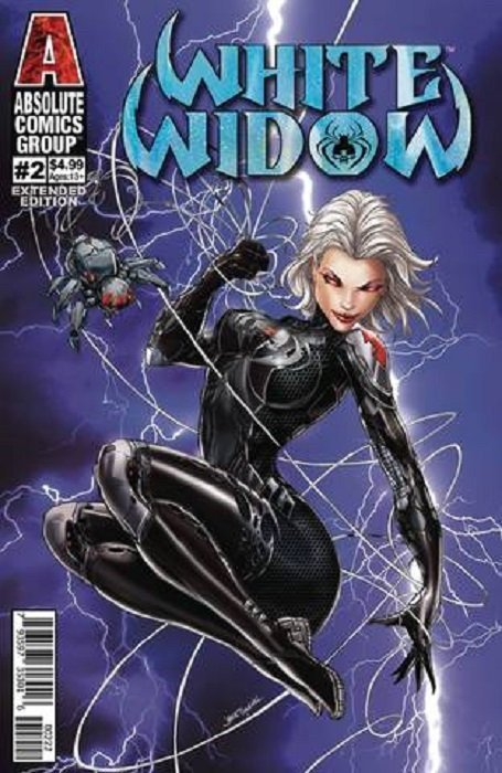 NM Absolute Comics 2nd Print White Widow #1 Cover C 2nd Print Variant 2019