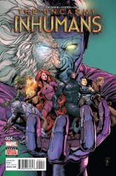Marvel's The Uncanny Inhumans Issue # 4