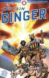 Ahoy Comics's Captain Ginger Issue # 4