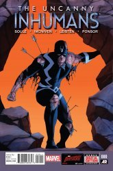 Marvel's The Uncanny Inhumans Issue # 0