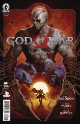 Dark Horse Comics's God of War: Fallen God Issue # 1