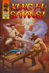 Trauma Comics's Kung Fu Satanist Issue # 2