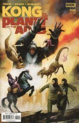 BOOM! Studios's Kong: On the Planet of the Apes Issue # 5