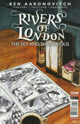 Titan Comics's Rivers of London: The Fey and The Furious Issue # 1b