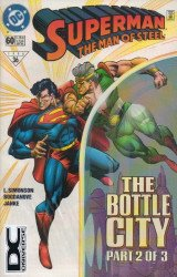 DC Comics's Superman: Man of Steel Issue # 60b