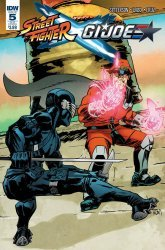 IDW Publishing's Street Fighter x G.I. Joe Issue # 5sub