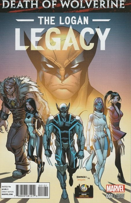 Marvel Comicss Death Of Wolverine The Logan Legacy Issue 1occ