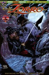 American Mythology's Zorro: Swords of Hell Issue # 4b