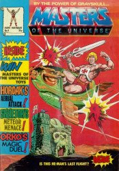 London Editions Magazines's Masters of the Universe Issue # 4